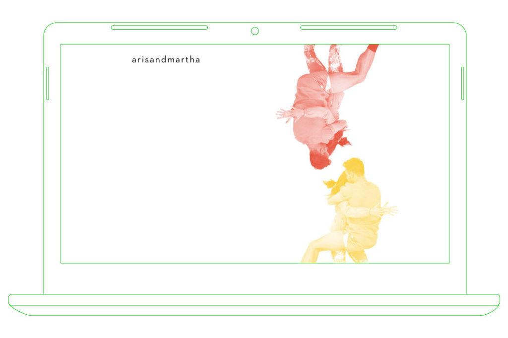 web design & development for arisandmartha.org